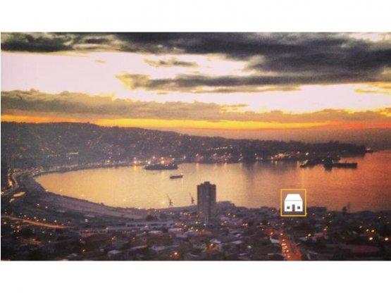 Depto amoblado 2D vista a la bahía Cerro Barón