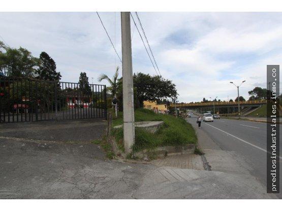 Lote zona industrial puente aeropuerto autopista