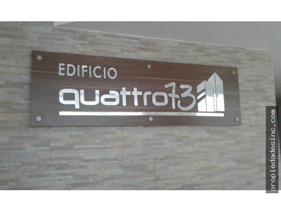 SE ARRIENDA APARTAESTUDIO EDIFICIO QUATTRO 73