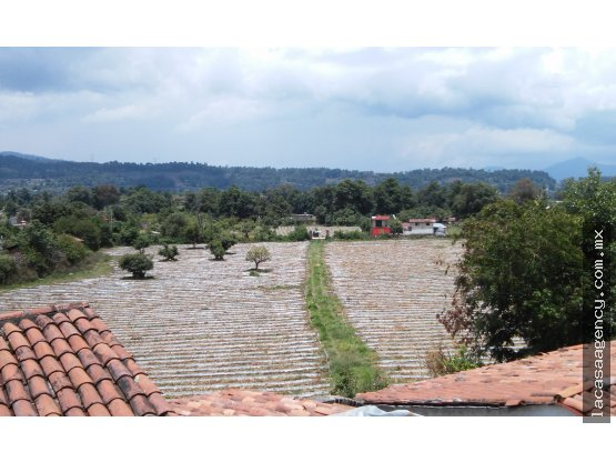 TERRENO CON CASA EN PIPIOLTEPEC  21812m²