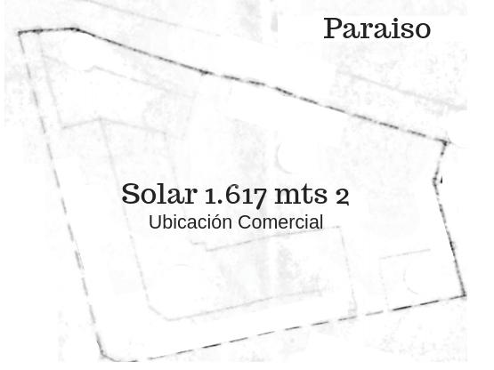 Solar en venta 1617m2  en Paraiso Santo Domingo