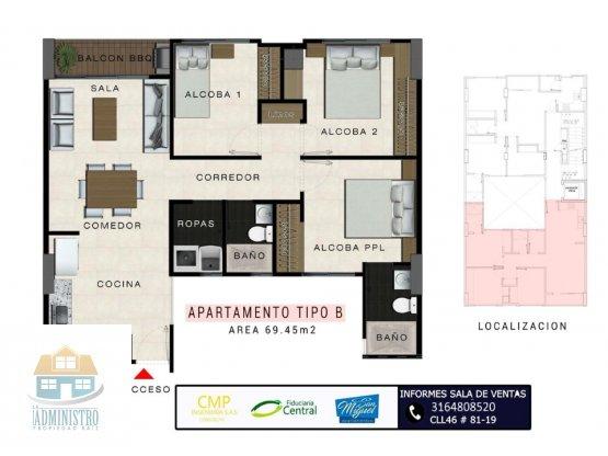 Apartamento en venta San Rafael Apartamentos