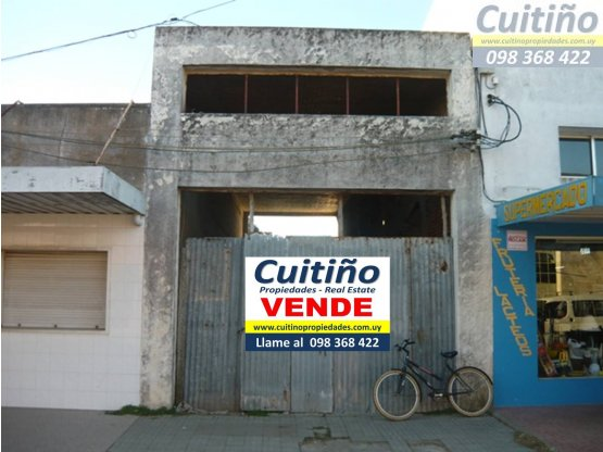 Local comercial 108 mt2 en pleno centro de Tala