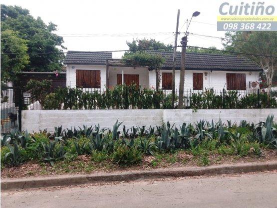 Casa 3 dormitorios en barrio Belvedere, Montevideo