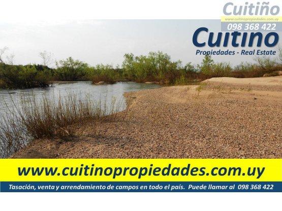 Campo en venta Lavalleja. 75 has. rio y arenera