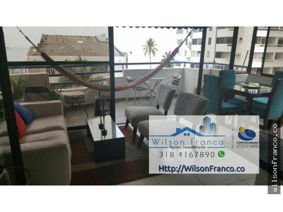 Apartamento En Venta, El Laguito, Cartagena