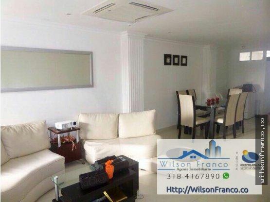Venta de Apartamento 110m2 Barrio Manga Cartagena