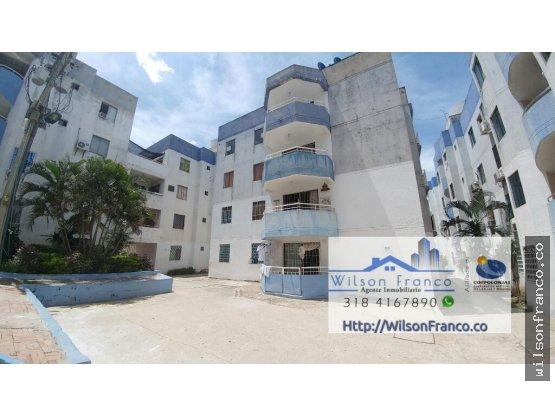 Apartamento En Venta, T De Los Alpes, Cartagena