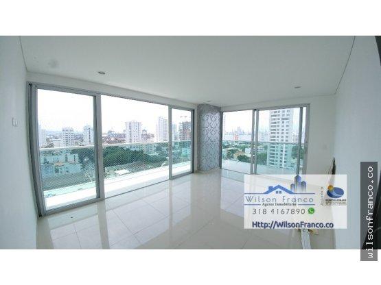 Apartamento En Venta, Barrio Manga, Cartagena