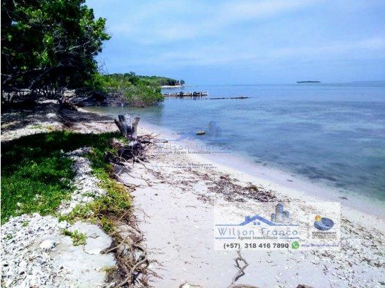 Lote Terreno en venta, Isla Barú, Playa, Cartagena