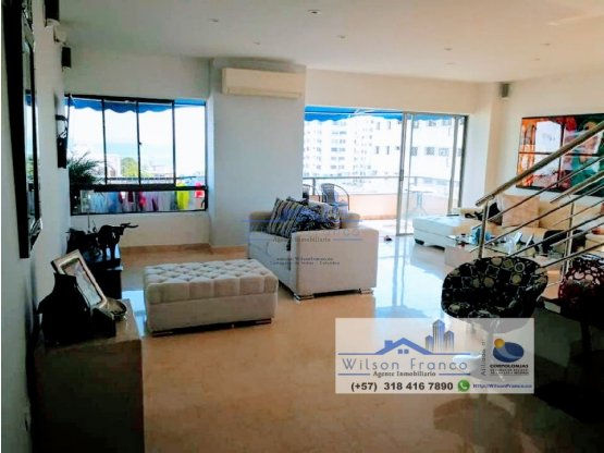 Apartamento dúplex en Venta, Bocagrande, Cartagena