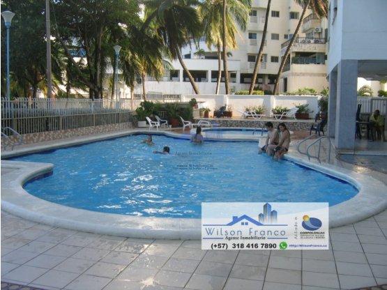 Apartaestudio en venta, El Laguito, Cartagena
