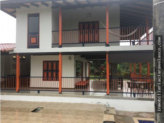 SE VENDE FINCA HOTEL CERCA A QUIMBAYA