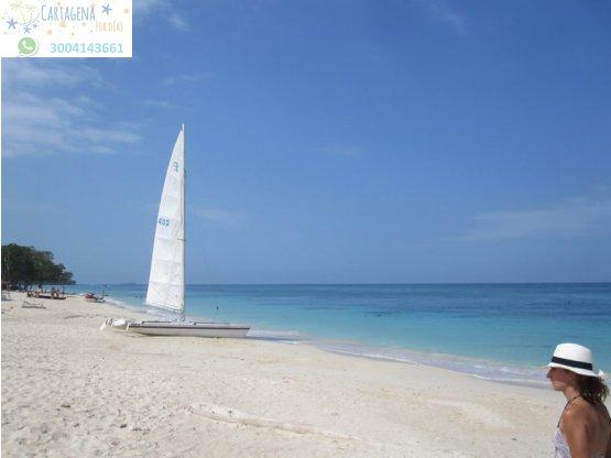 Playa Blanca de Barú por Tierra