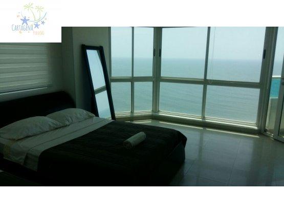 Dos habitaciones Vista al Mar  8 personas TL1501A