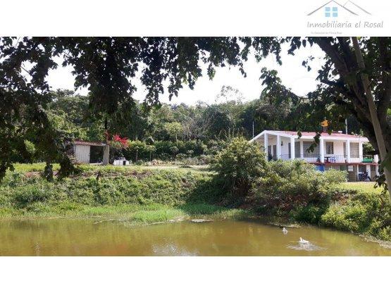 Casa Lote 1 fanegada en Anapoima Cund