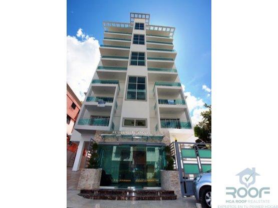Apartamento amplio en Torre Evaristo Morales