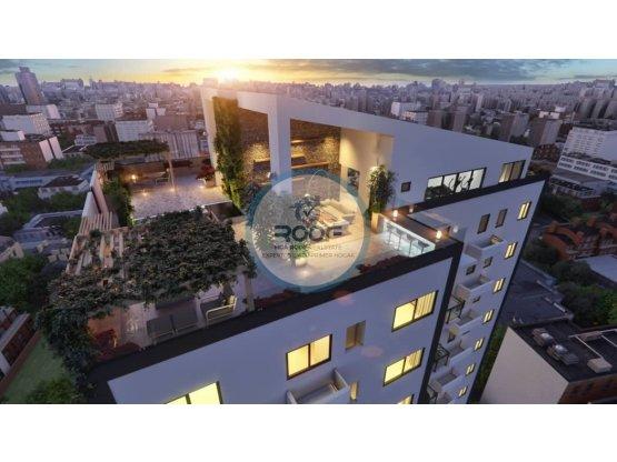 Apartamento de 2 Hab Torre Moderno en Naco