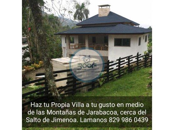 Vendo Terrenos para Villas en Jarabacoa