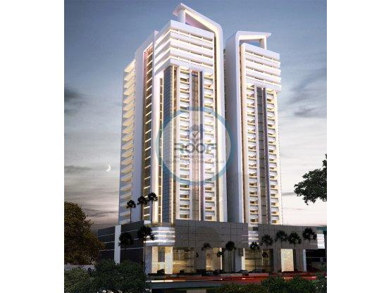 Nuevas torres modernas en la Av Anacaona
