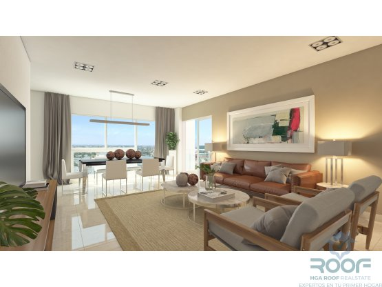 Apartamentos Modernos 1,2 y 3 Habitaciones en Naco