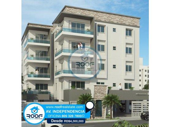 Apartamentos de 3 habitaciones próximos al Mirador
