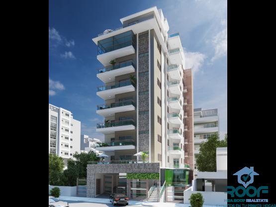 Apartamentos confortables y elegantes en naco