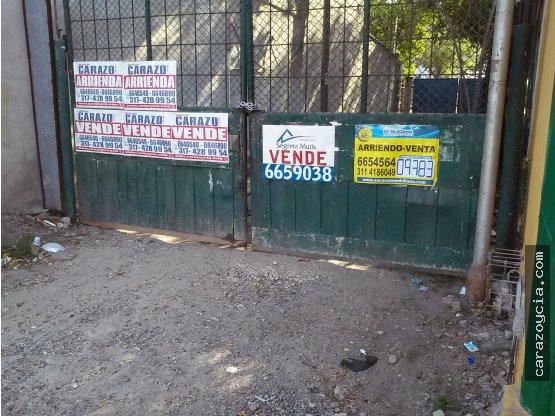 CARAZO ARRIENDA Y VENDE LOTE EN EL BOSQUE