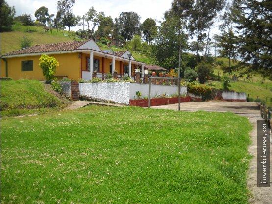 Casa campestre y Lote- Choconta-