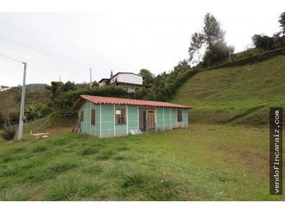 Casa lote en Guarne vereda Chaparral
