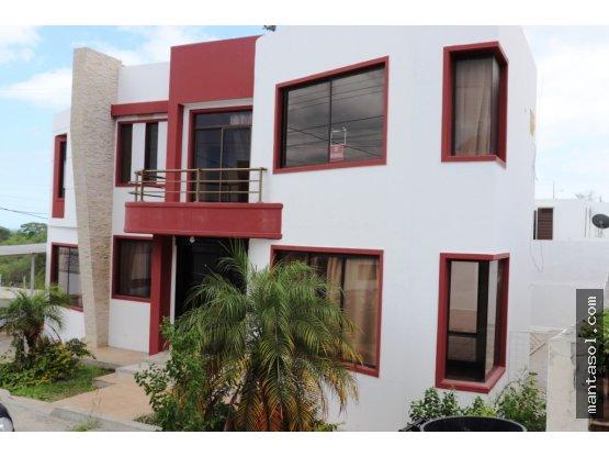 Casa en renta Mantabeach