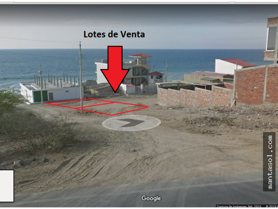 Vendo terrenos playa Sta Marianita