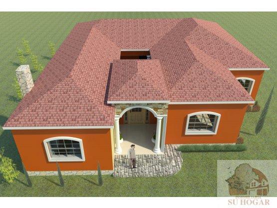 500 v2+casa de campo en preventa en Tatumbla