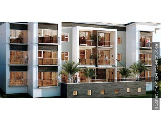 Apartamento de 1, 2 o 3 dormitorios en residencial