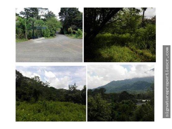 Terreno de 9 hectáreas con frente de calle pública