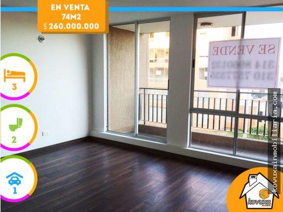 Apartamento en venta en Cajica Huertas Reservado