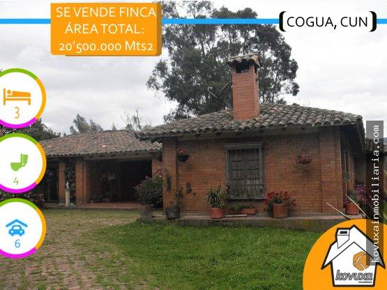 Se vende Finca en Cogua