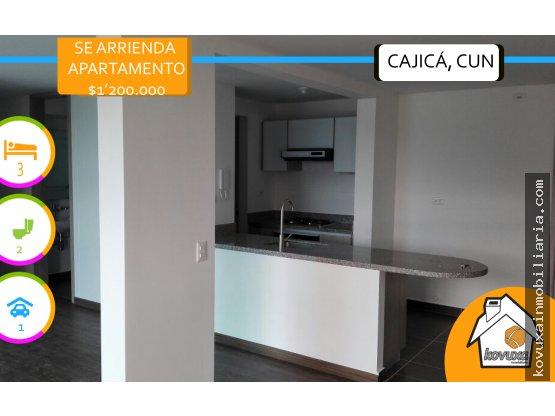 """Se arrienda apartamento """"El Cortijo"""" Cajicá."""