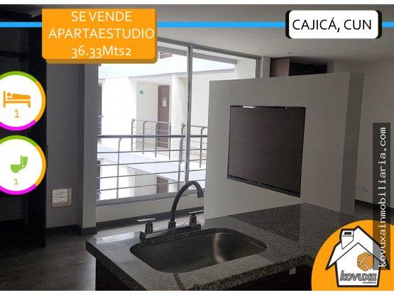 Se vende apartaestudio Cajicá