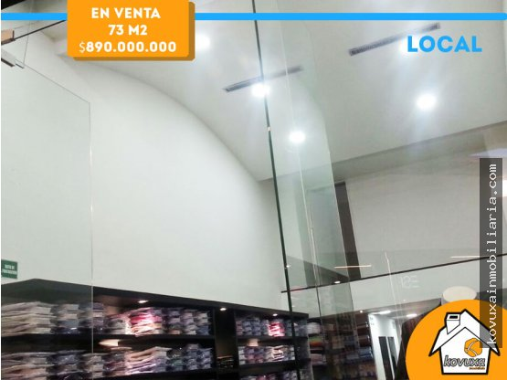 Vendo local comercial en C.C Bulevar Niza