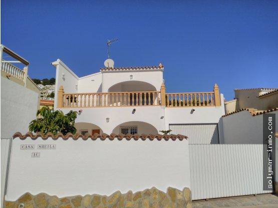 Alquiler Anual Chalet en Moraira