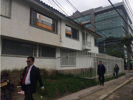 Venta Lote Chico Bogota.