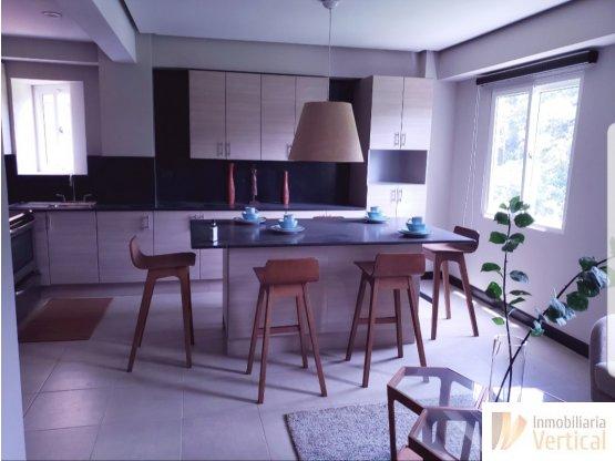 Apartamento  amueblado1 hab. en renta zona 16