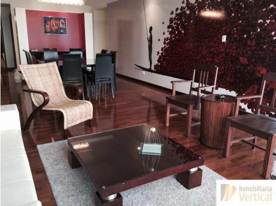 Apartamento amueblado Quinta Bella en renta z. 14