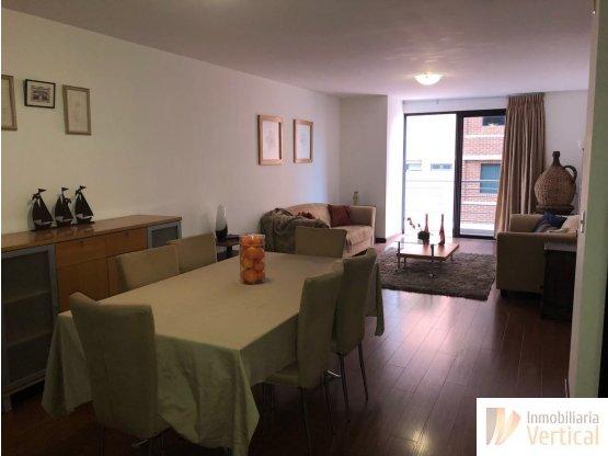 Apartamento amueblado 2 hab. en renta zona 14