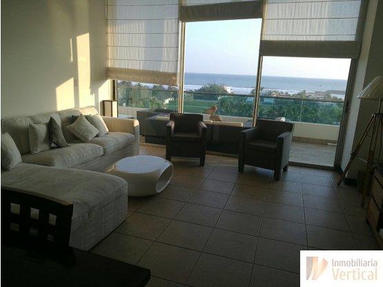 Apartamento de playa en renta, 2 habitaciones