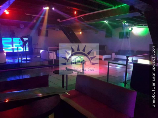 Local comercial ideal para discoteca