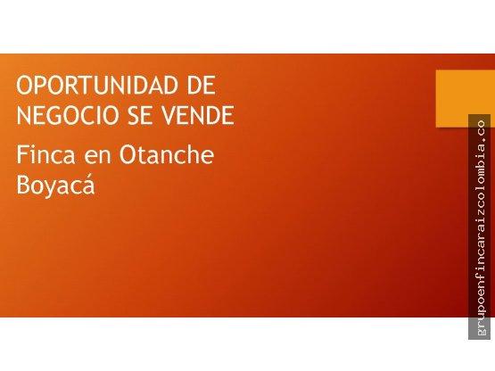 Vendo finca Otanche Boyaca