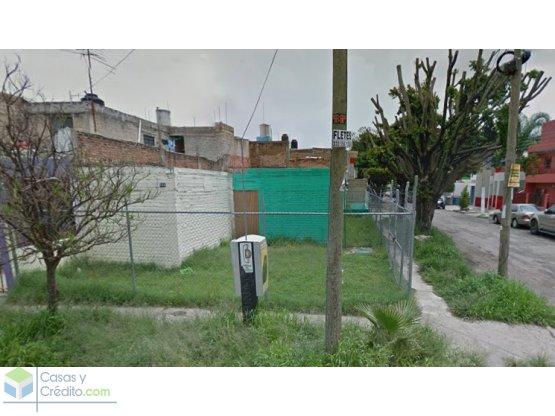 OPORTUNIDAD Terreno en Zapopan en esquina  182m.²