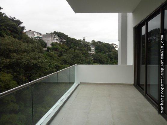 Apartamento en renta Acantos de Cayala zona 16,